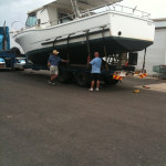 Gary's Spanner Crab Boat from Lawries Marina to his farm near Cooyar