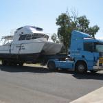 Scotts (Prime Mover) heading home to Bundaberg from Gladstone