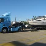 Shanes Wide Body Mustang unloading at Mackay Marina QLD