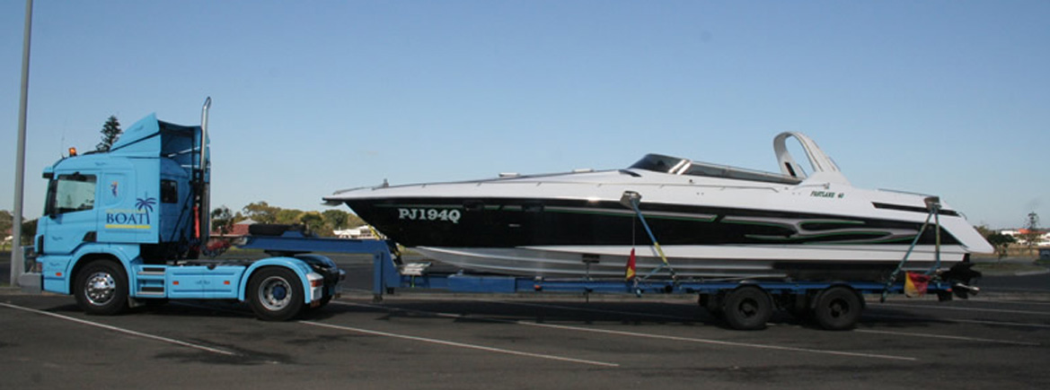 Queensland Boat Transport Boating Holiday New South